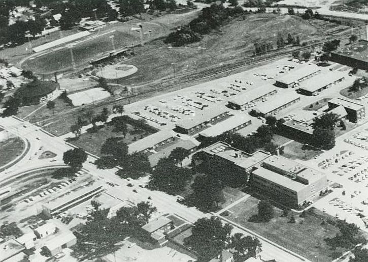 Ames aerial view