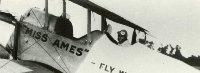 Herman Banning's plane<br />