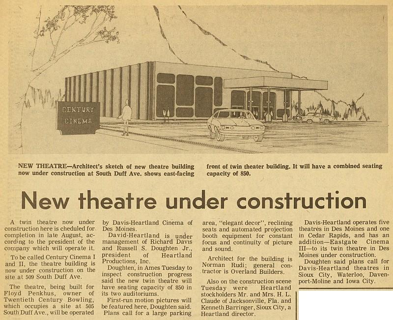 Century Cinema and Miniature Golf | Ames Historical Society