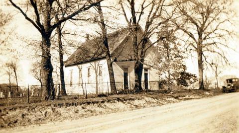 Pleasant Grove Church, 1937