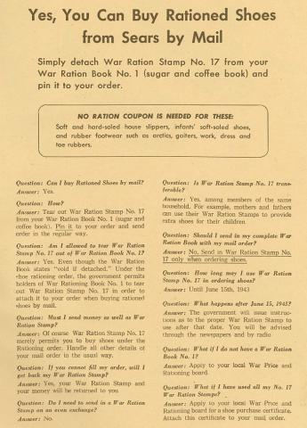 World War II Rationing on the U S  Homefront | Ames History