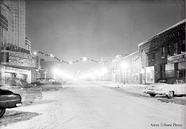 Downtown Ames Iowa Christmas 2020 Main Street at Christmas Time | Ames History Museum